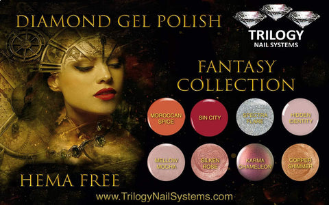 Trilogy Diamond Gel Polish Fantasy Collection