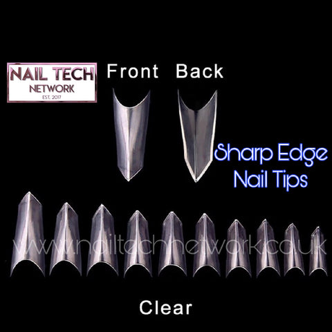 Sharp Edge Nail Tips