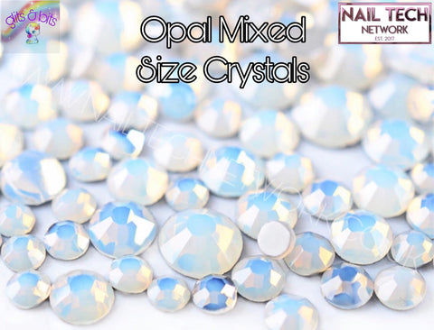 Opal Mixed Size Crystals