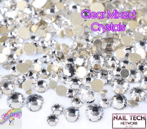 Clear Large Round Crystals