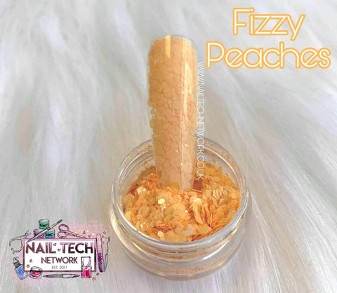 Fizzy peaches multi-cut glitter