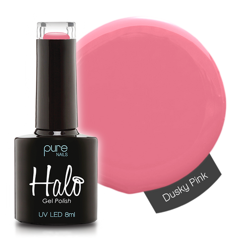 Halo Gel Polish Dusky Pink 8ml