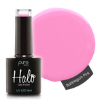 Halo Gel Polish Bubblegum Pink 8ml