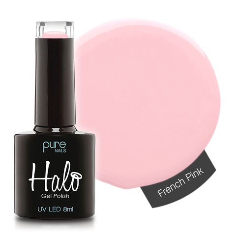 Halo Gel Polish French Pink 8ml