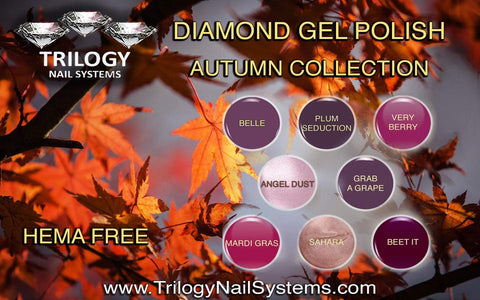 Trilogy Diamond Gel Polish Autumn Collection