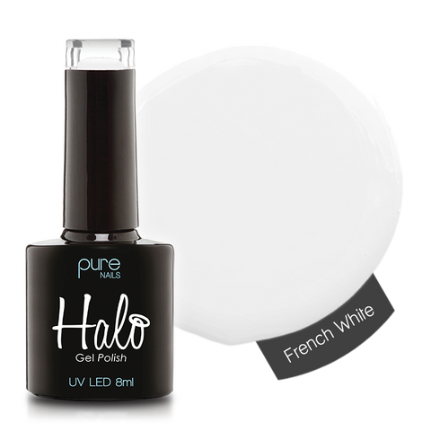 Halo Gel Polish French White 8ml