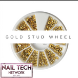 Gold stud wheel