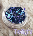 Twilight glitter dots