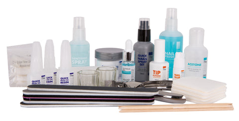 The EDGE quick nails dipping system kit