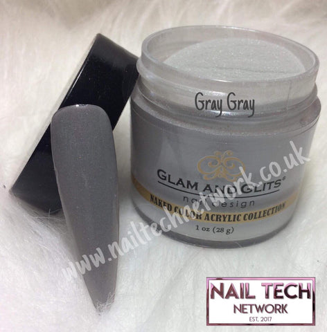 Glam & Glits Naked Color Collection Gray Gray