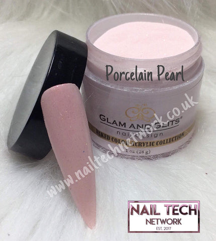 Glam & Glits Naked Color Collection Porcelain Pearl