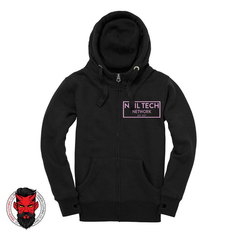 Nail Tech Network Zipped Hoodie