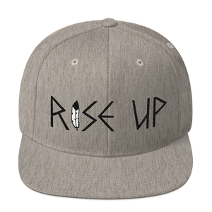 """Rise Up"" Heather Grey"