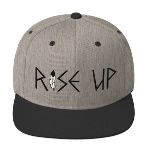 """Rise Up"" Heather Grey/Black"