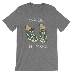 """Walk In Mocs"" Deep Heather Grey"