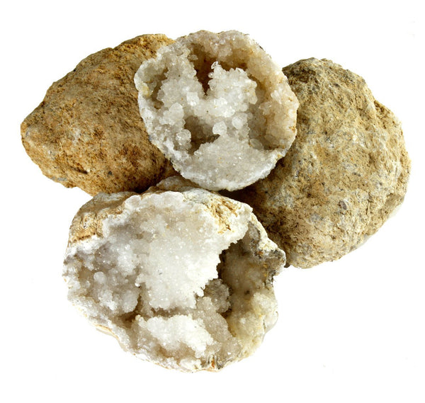rock and mineral with geodes kit
