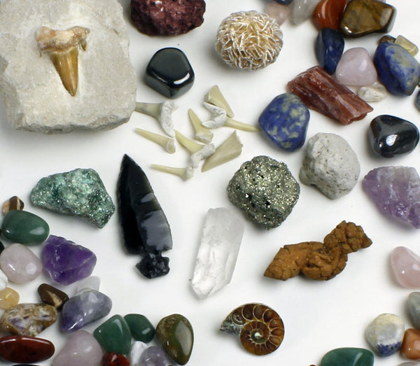 rock, mineral & fossil collection