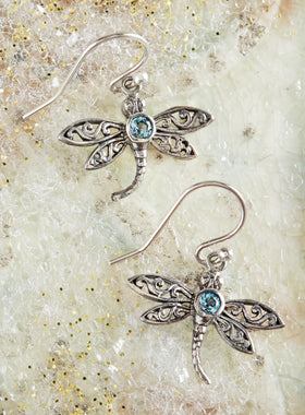Graceful Dragonfly Earrings