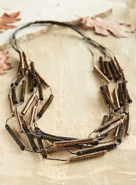 Peruvian Pirouette Necklace