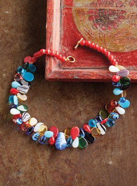 Mali Wedding Bead Necklace