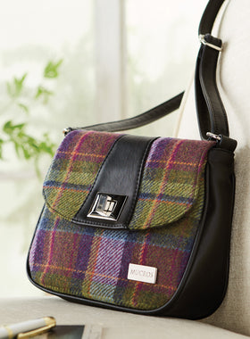 Killarney Tweed Saddle Bag