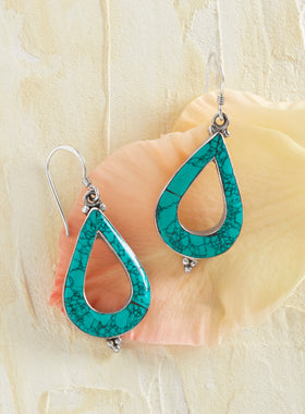 Timeless Affection Turquoise Earrings