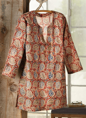 Indian Spice-dyed Tunic