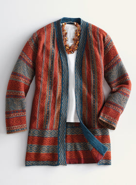 Huancayo Long Cardigan