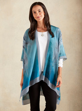 Silk Watercolor Jacket