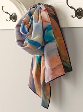 Shoreline Silk Scarf