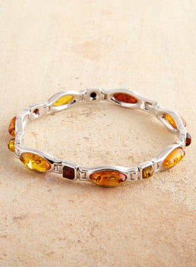 Amber Cocktail Bracelet