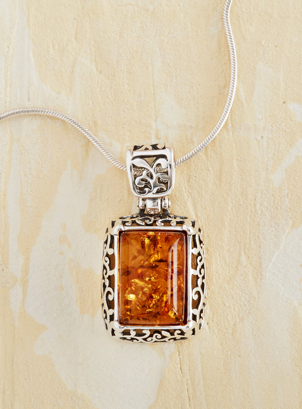 Amber Palace Necklace