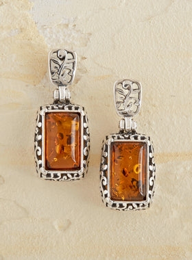 Amber Palace Earrings