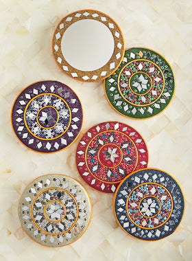 Festival of Lights Pocket Mirrors - Set of 6
