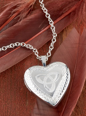 Trinity Knot Locket