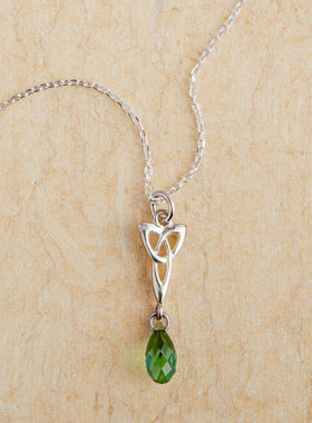 Love Knot Crystal Necklace