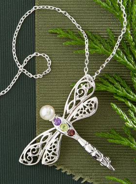 Celtic Dragonfly Pin/Pendant