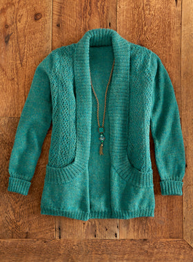 Deep Pockets Alpaca Cardigan