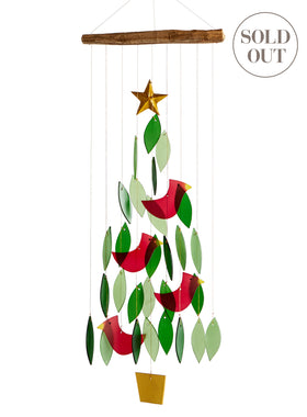 Christmas Tree Wind Chime