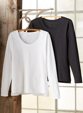 Pretty Much Perfect Long-sleeved Tee