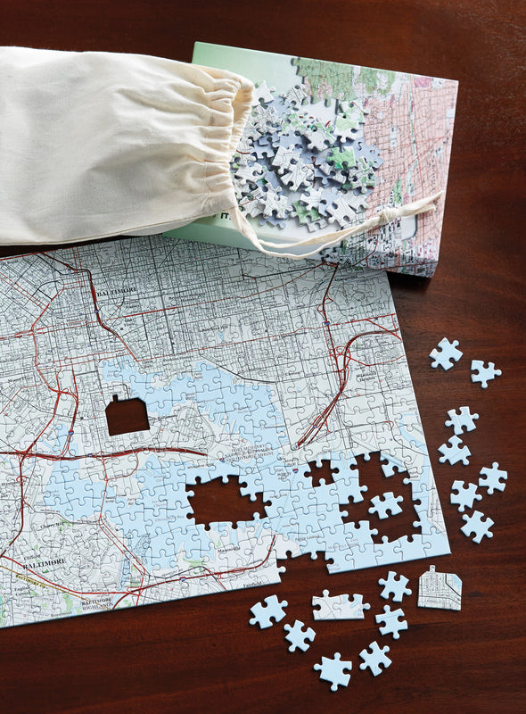 Meaningful Places Personalized Puzzle