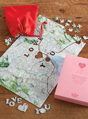 Where Love Bloomed Custom Puzzle