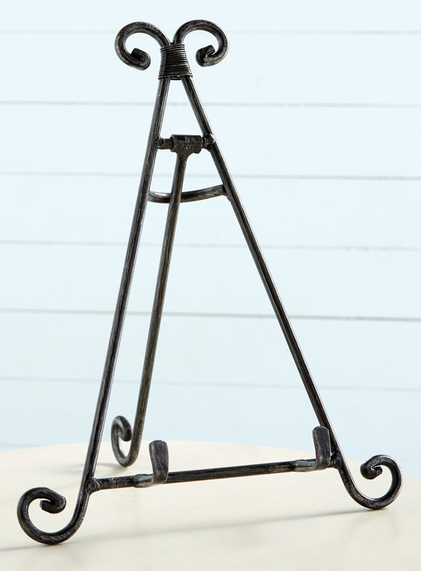 Forged Iron Display Easel