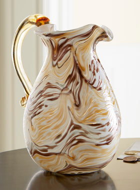 Murano Glass Pitcher