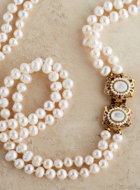 Palazzo Pearl Necklace