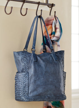 The Quintessential Italian Leather Tote Bag