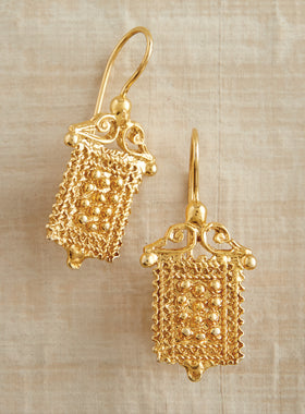 Etruscan Sun Earrings