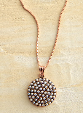 Vicenza Pearl Pendant Necklace