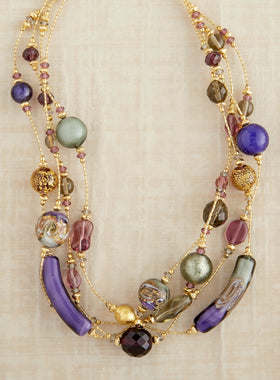Venetian Carnival Necklace