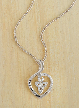Eternal Love Celtic Pendant